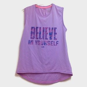 Champion Girls Purple Shirt
